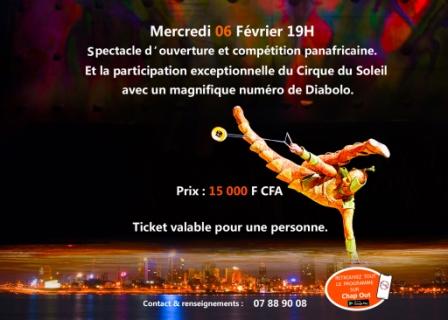 Soirée de Gala et Compétition Panafricaine de Cirque